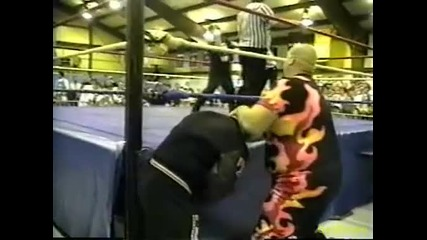 Bill Alfonso w/ Tazz vs. Tod Gordon w/ Bam Bam Bigelow - Ecw Just Another Night 1996