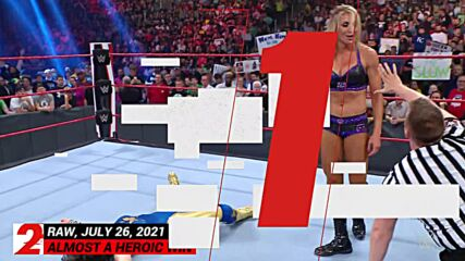 Top 10 Raw moments: WWE Top 10, July 26, 2021