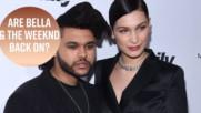 Прехвръкнаха ли искри между Бела Хадид и The Weeknd на Coachella