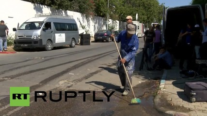 Tunisia: Clean-up operation underway after deadly hotel shooting leaves 39 dead
