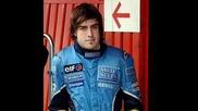 Чаровният Fernando Alonso и любимата му песен-Tell me baby