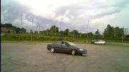 Opel Omega 2.5 v6 burnout