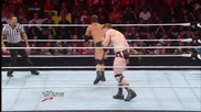 Sheamus vs. Curtis Axel: Raw