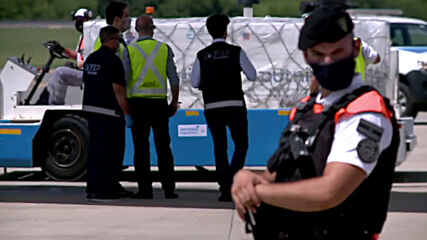 Argentina: Plane lands in Buenos Aires with another 300,000 doses of Russia's 'Sputnik V' COVID vaccine