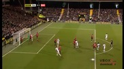 21.12 Фулъм 0 - 5 Манчестър Юнайтед - Най - доброто от мача