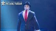 Човекът с две лица Tobias Mead * Великобритания търси талант *