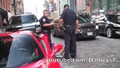 В Сащ полицията не се шегува.. Изхвърлиха шофьора от Ferrari!