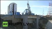 Russia: Putin inspects construction progress at Vostochny Cosmodrome