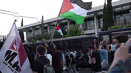 Greece: Pro-Palestine protesters march to Israeli embassy, condemn NATO Defender drills