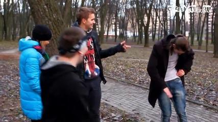 Забавление по руски - Шоу Идиоти - Против пушенето