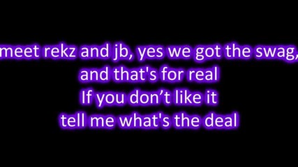 New!! Justin Bieber ft. Yung Rekz - Swag So Mean Lyrics