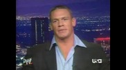 John Cena Interview About Bobby Lashley