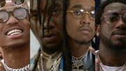 Migos - Slippery (feat. Gucci Mane) (Оfficial video)