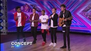 Concept sing Labrinth's Earthquake - Audition Week 1 - The X Factor Uk 2014