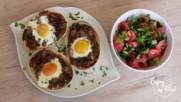 Enjoy my food by Diliana Kostova - тортилови кошнички