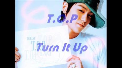 ( New ) T. O. P - Turn It Up - Цялата песен