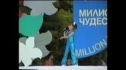 Таня на конкурса Милион чудеса 2004г.