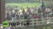 Nepal: Protester reported dead as clashes break out at India-Nepal border