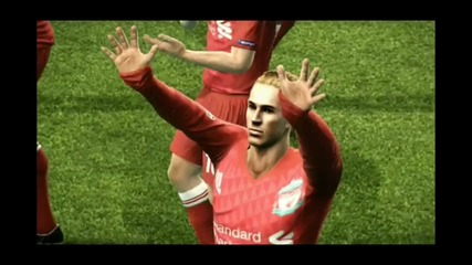 Become a Legend || Pes 2012|| Liverpool Champion League!