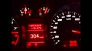 308 км/ч на магистрала Тракия с Audi R8 !