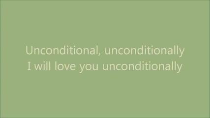 Katy Perry - Unconditionally (lyrics On Screen)/текст+превод/