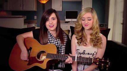 Страхотно изпълнение на две красиви момичета