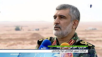 Iran: IRGC fires ballistic missiles at targets in Indian Ocean during desert drills