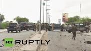 Най-малко 12 жертви в Сомалия след експлозия на кола-бомба