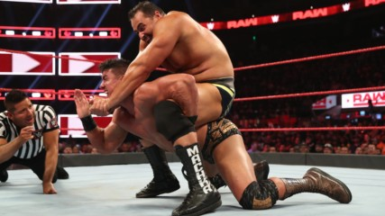 Rusev vs. EC3: Raw, Sept. 23, 2019