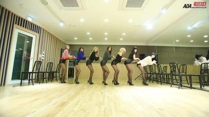 Aoa - 짧은 치마(miniskirt) 안무영상(dance Practice)