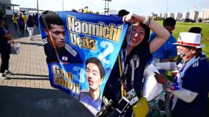 Russia: Colombian and Japanese fans flood Saransk streets after WC clash