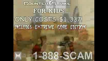 counter strike For kids - За деца