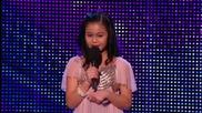 Британия търси талант ! 11 Годишно момиче възхити публиката и журито с изумителният си глас !
