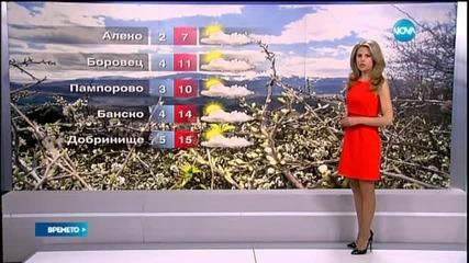 Прогноза за времето (29.04.2015 - централна)