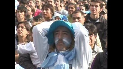 Разочарованието на Аржентина