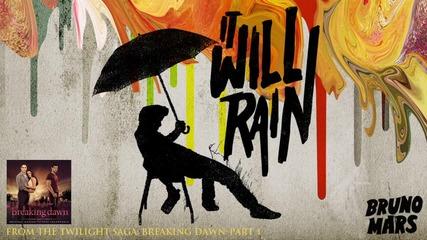 Bruno Mars - It Will Rain (+ download link)
