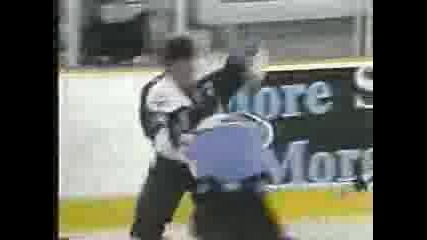 Best Hockey Fight Video Ever