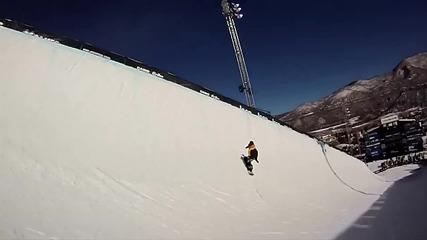 Най-доброто от зимните спортове 2012