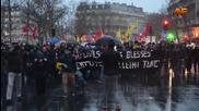 France: Police suppress pro-Kurdish demo after clashes grip Paris