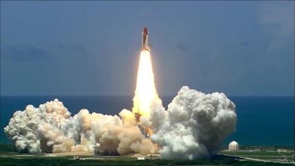 Удивително! Изстрелване на ракета