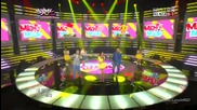 (hd) Mighty Mouth ft. Soya - Bad boy ~ Music Bank (11.05.2012)