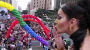 Brazil: LGBT Pride marchers protest Temer in Sao Paulo