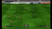 Fifa 2010 Man Utd vs Arsenal ( Man Utd new 09/10 kits )