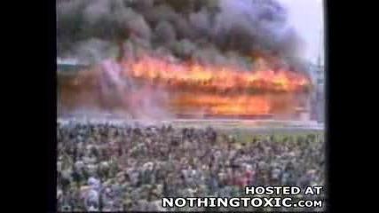 Bradford Стадиона изгаря!!! 1985