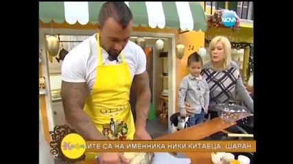 """2013.12.6 Ники Китаеца с детето му в ,, на Кафе """""""