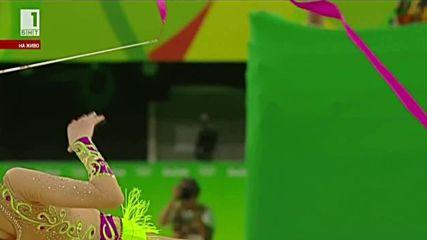 Невяна Владинова - лента - финал - Рио 2016