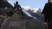 Danny Mcaskill filming in Chamonix for Perfect Moment - Instant
