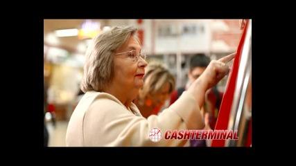 Реклама - Cashterminal - Плати и спести време и пари