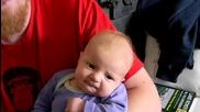 Най - бързият начин да успокоиш бебок