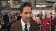 Paul Rudd Thinks He Has The Best Suit At 'Ant-Man' Premiere